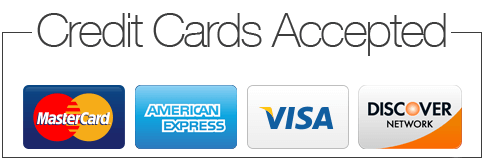 Credit Cards Accepted for Payment