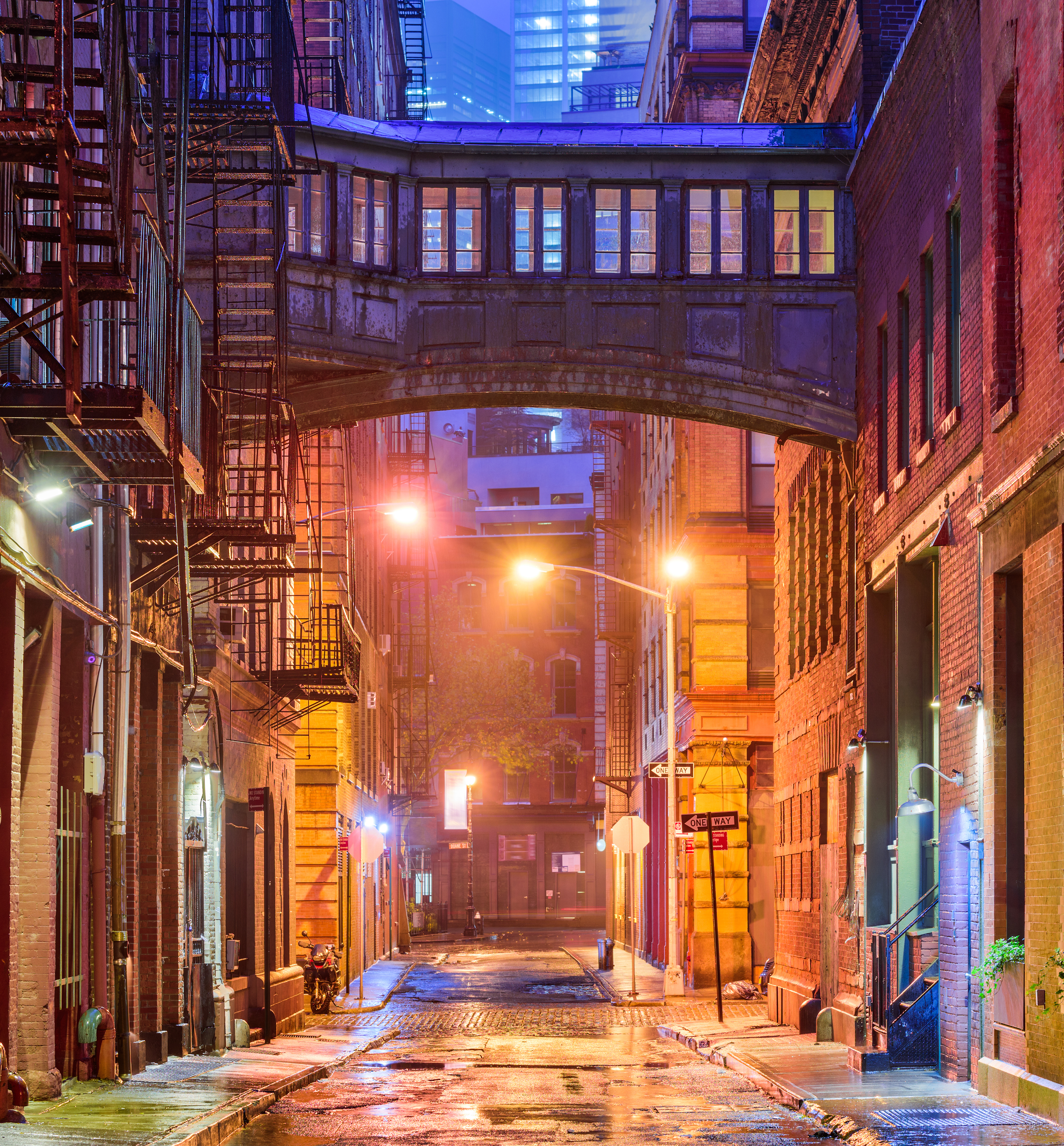 Tribeca Archway Location New York City